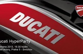 Pozvánka na Ducati HyperParty - ZMĚNA TERMÍNU!!