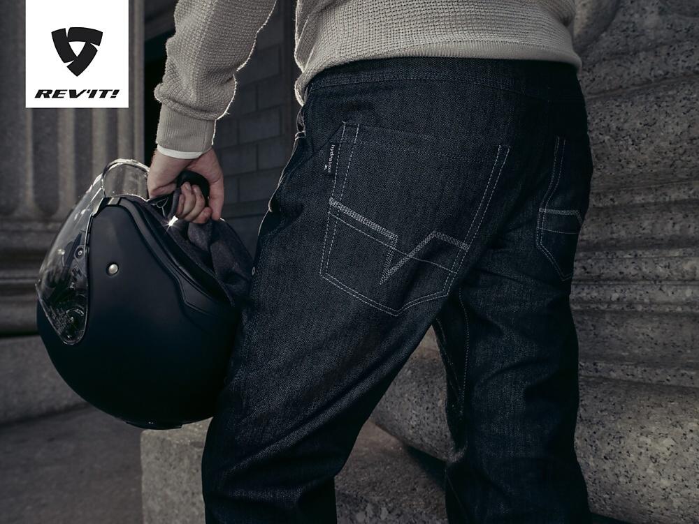 Rev'It Memphis H2O – 100% nepromokavé moto jeans