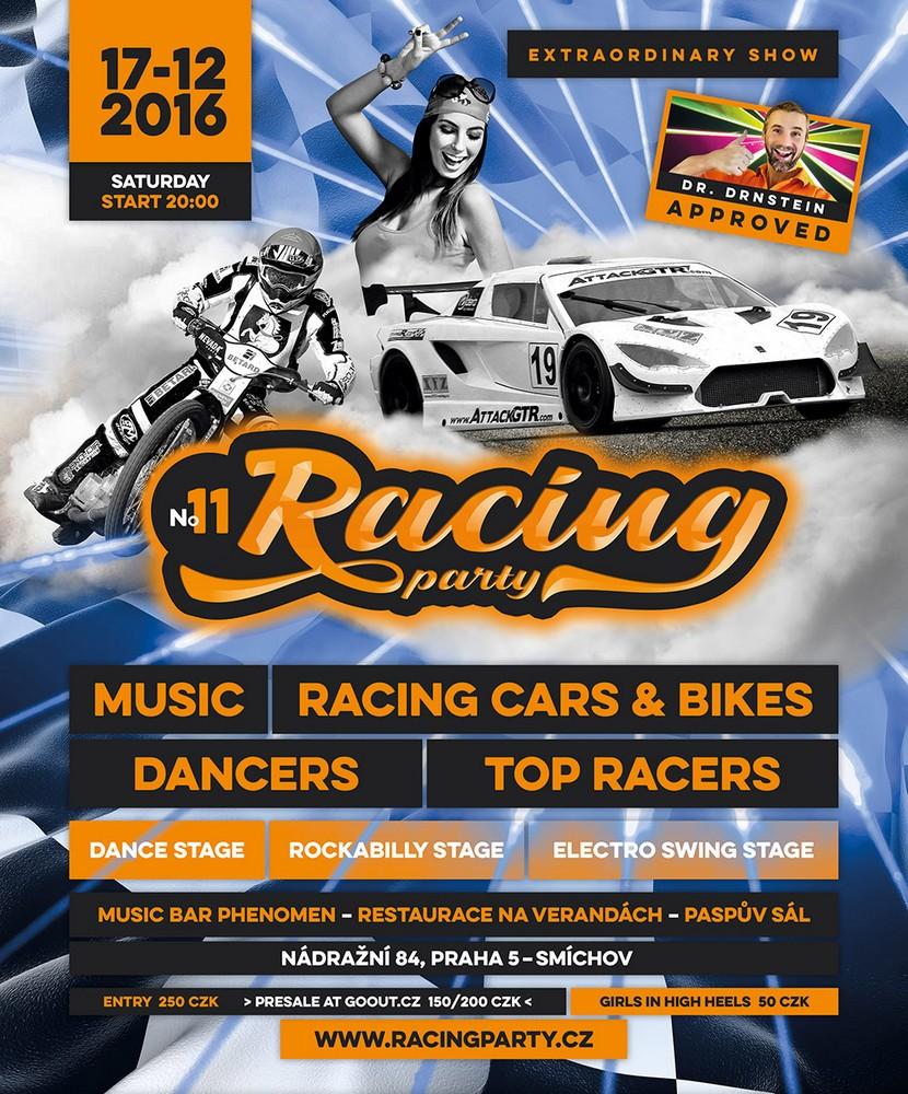 Pozvánka na akci: Racing Party vjíždí do druhé dekády