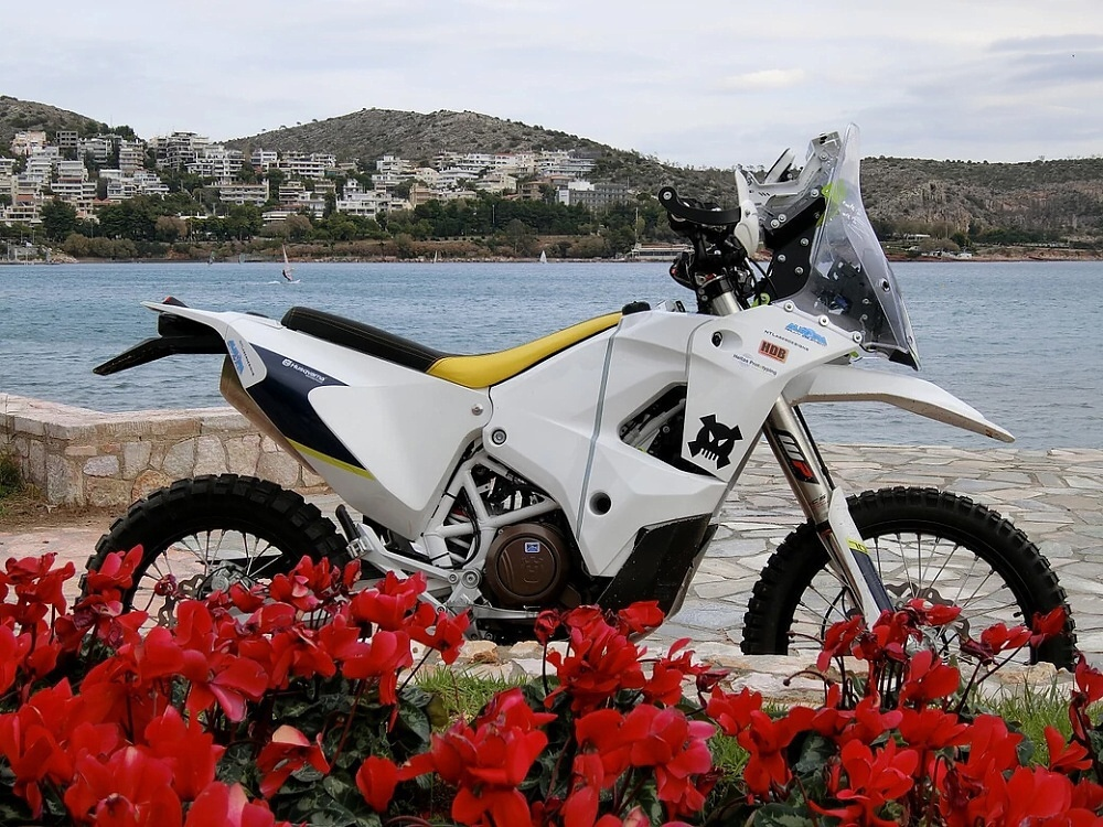 Seven Zero One – Husqvarna 701 jako rallye bike