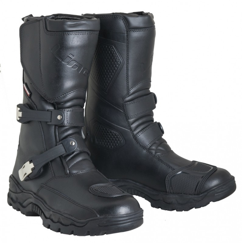 Kožené boty M-B-W LIME TANER