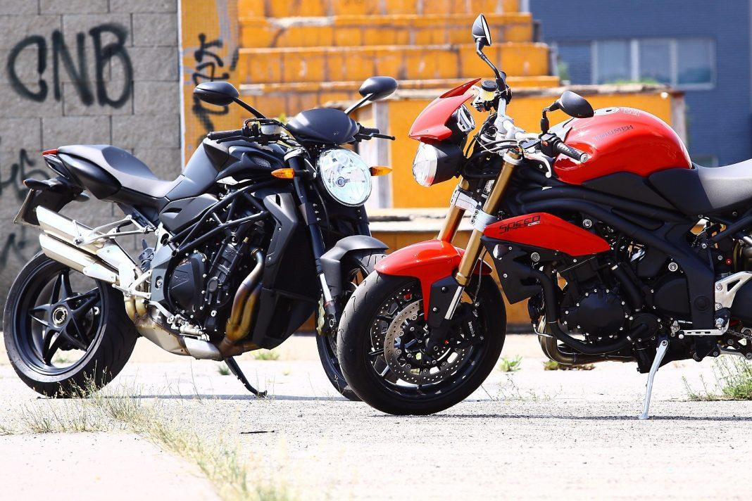 MV Agusta Brutale 920 vs. Triumph Speed Triple