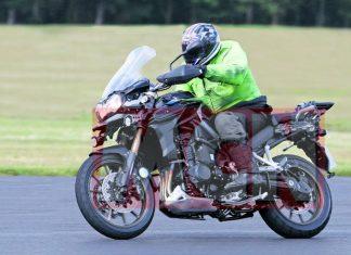 Nový Triumph Adventurer 2012 opět spatřen!