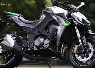 První foto: 2014 Kawasaki Z1000