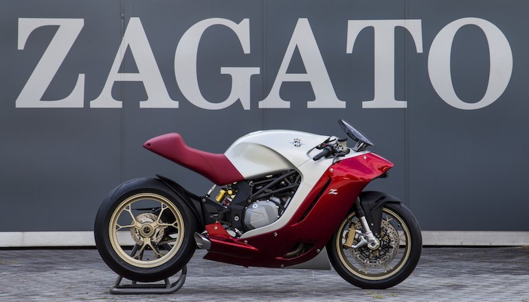 MV Agusta spojila síly s karosárnou Zagato